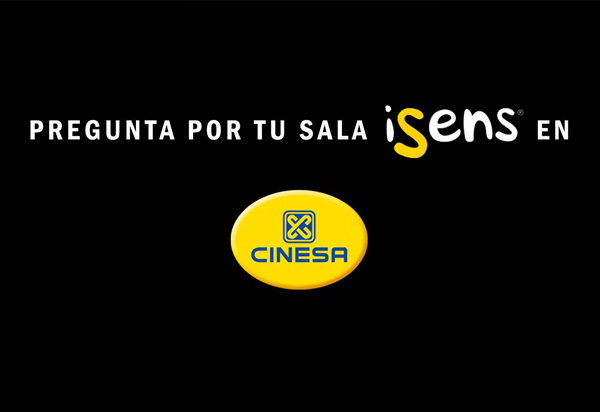 Cinesa - Salas iSens